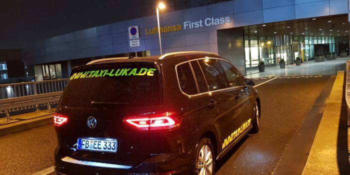 Frankfurt Airport-First Class