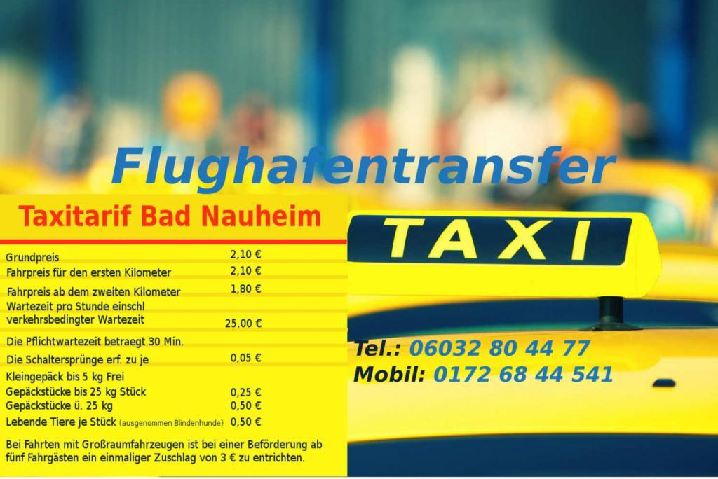 Taxitarif Bad Nauheim